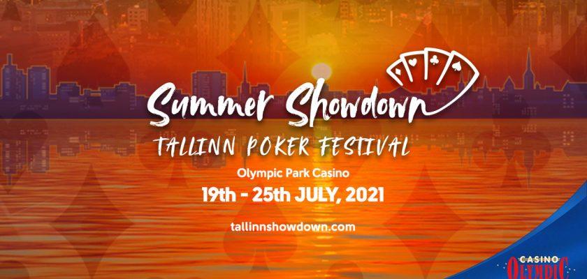 مسابقه تابستانی پوکر تالین مسابقه شبانه روزی پوکر