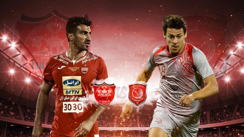 نتیجه فوتبال الدحیل قطر و پرسپولیس