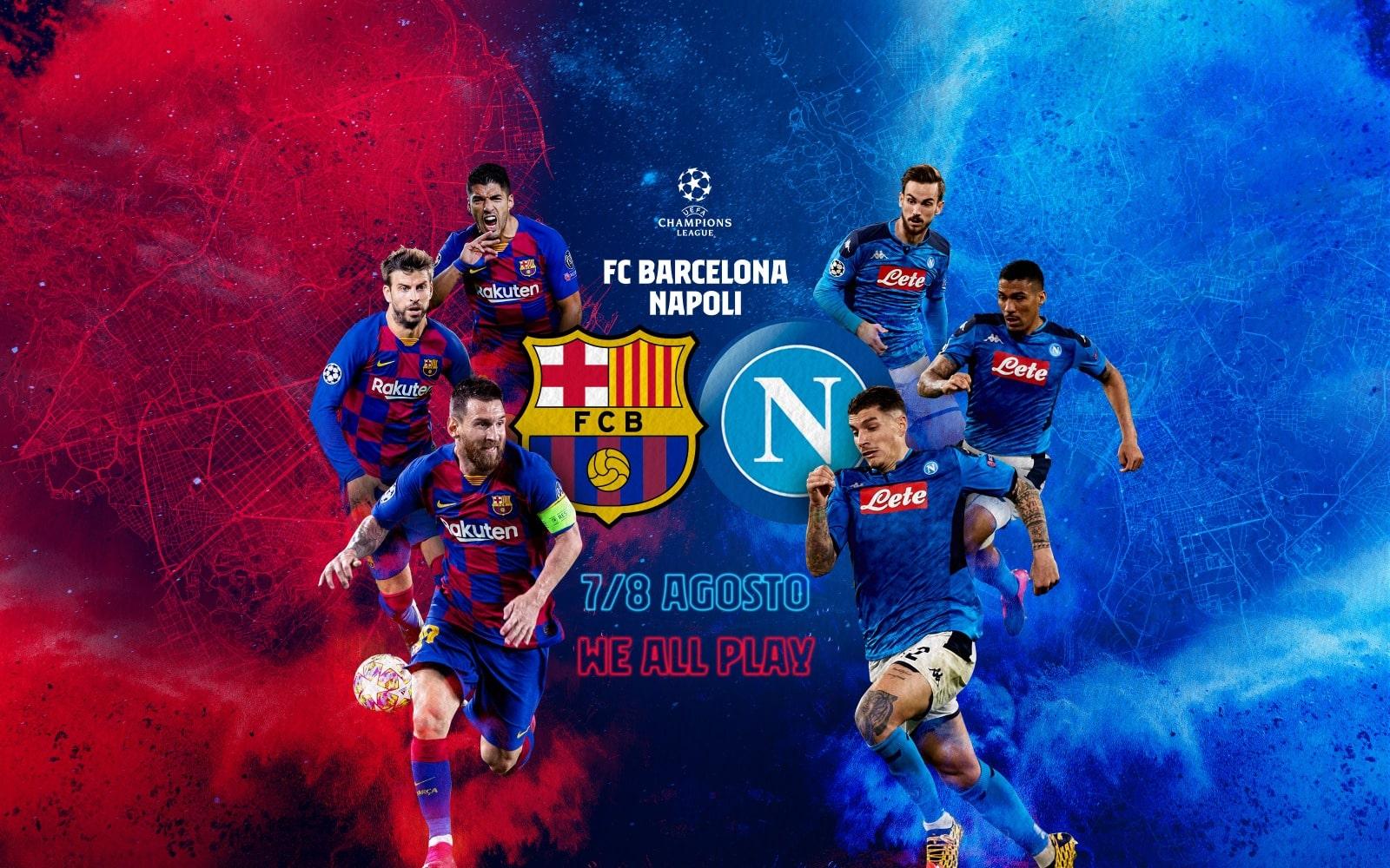 پیش بینی فوتبال بارسلونا ناپولی