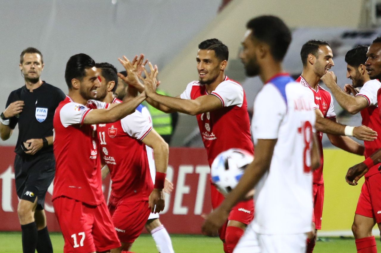 پیش بینی بازی فوتبال پرسپولیس ایران و الشارجه امارات