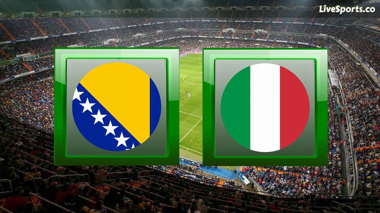 پیش بینی فوتبال ایتالیا بوسنی