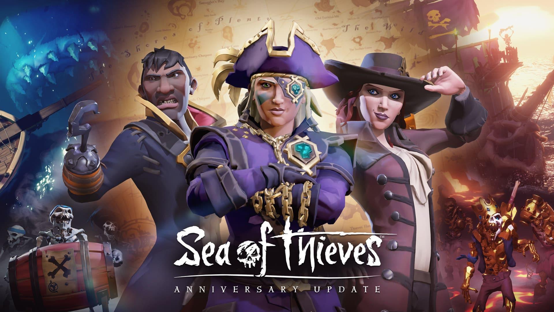 جنگ های بازی Sea of Thieves