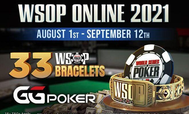 برنامه مسابقات WSOP پوکر آنلاین