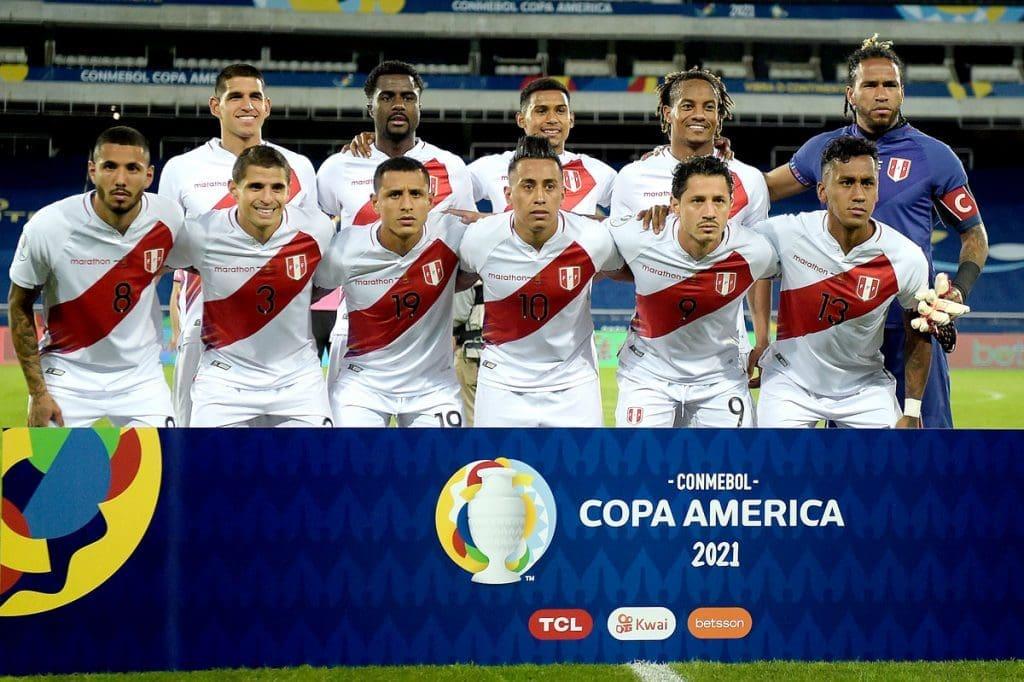 شرط بندی بازی فوتبال پرو و کلمبیا