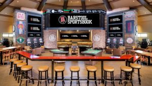 sportsbook in a bar