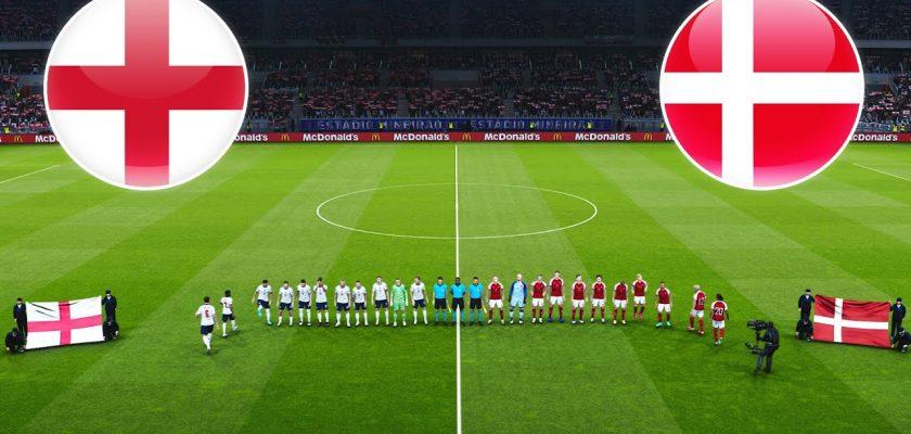 پیش بینی بازی فوتبال انگلیس دانمارک